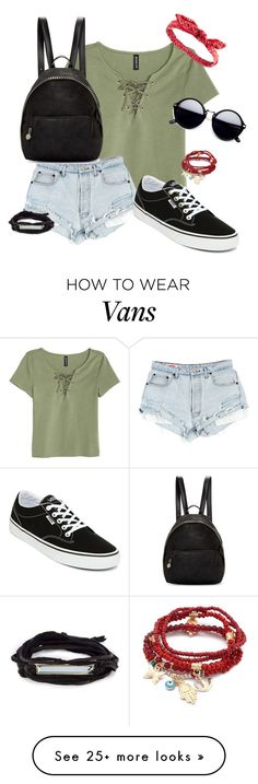 """Summer Hangout"" by maxine128 on Polyvore featuring H&M, Vans, STELLA McCARTNEY, Charlotte Russe and Chicnova Fashion"