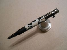 Handmade Bolt Action Bullet Pen with Urban Camo by JDHomeGallery