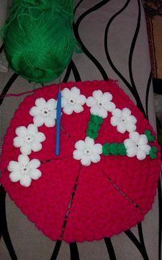 Crochet World, Crochet Art, Crochet Doilies, Free Crochet, Crochet Patterns, Puff Stitch Crochet, Crochet Winter, Crochet Kitchen, Beanie Pattern