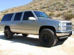 1999 Chevy Suburban Tire and Brake Upgrade