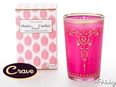 Smell The World Through Rose-Tinted Candles