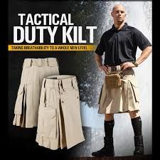 Image result for utility kilt for the active man