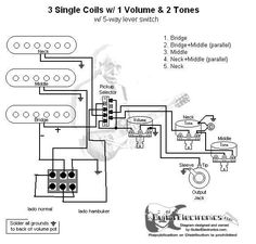 two single coil guitar wiring diagram with 40180621650833265 on Two Conductor Vs Four Conductor Cable Humbuckers additionally Wiring Diagram 2 Humbuckers 5 Way Switch also 4 Conductor Humbucker Wiring Diagram likewise Seymourduncan Support Wiring Diagrams together with 40180621650833265.