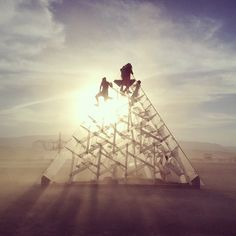 """15 Burning Man Instagrams That Prove FOMO Is Very, Very Real #refinery29  http://www.refinery29.com/2014/08/73755/burning-man-2014-pics#slide4  Look up the word """"majestic"""" in the dictionary and you'll find this image."""