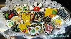 Mary Engelbreit inspired cookiesEast Aurora Cookie