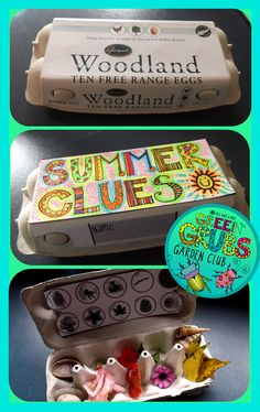 Transform an egg carton into a collecting box to store your Nature Walk finds!  This pack includes 12 black and white labels in a bold, fun, funky font which is perfect for the children to color in and personalize...$