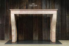 Simple Limestone Antique Fireplace£1300