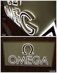 Line & Reserver Lit Stainless Steel Channel Letter UV Printing/ SilkScreen/ Acrylic Face Signage Board, Wayfinding Signage, Signage Design, Shop Board Design, Channel Letter Signs, Pylon Sign, Architectural Signage, Store Signage, Illuminated Signs