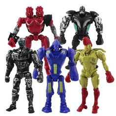 Movable arms and legs. Set of 8 characters from the movie Real Steel. Best choice for Real Steel fans. Best Action Figures, Fighting Robots, Real Steel, Kids Tv, Twin Cities, Toys For Boys, Gifts For Kids, Video Game, Twins