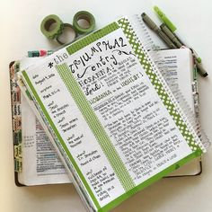 Bible Journaling Mark 11. No better way to start my day! Check out these Bible Journals from Farm Girl Journals on Etsy!