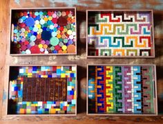 Bandejas em mosaico, by Schandra Mosaic Mosaic Tray, Mirror Mosaic, Mosaic Glass, Mosaic Tiles, Mosaic Crafts, Mosaic Projects, Diy Projects, Mosaic Furniture, Valentine Coloring Pages