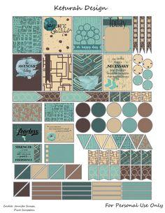 Planner & Journaling Printables ❤FREE Global Planner Stickers by Keturah Design