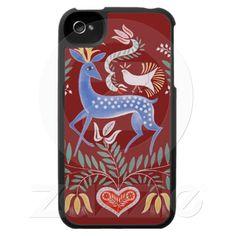 Art populaire hongrois housses pour iphone 4 de Zazzle.fr