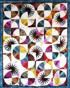 Bali Fever, Quiltworx.com, Made by Certified Instructor Sue Wilson.