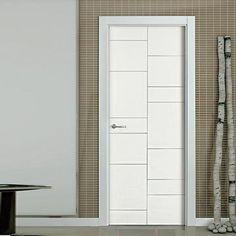 The beautiful prefinished San Rafael Lacada 941 FD30 Fire Door with panel designs.  #directdoors