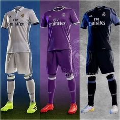 """d03bcebea7a """" When Barcelona   Real Madrid both reveal their new purple away kits on the  same day"""""""
