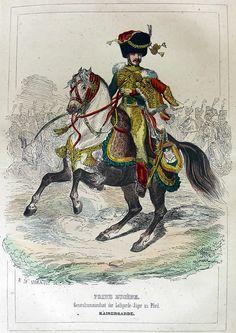 Prinz Eugène de Beauharnais als Generalkommandant der Jäger zu Pferd