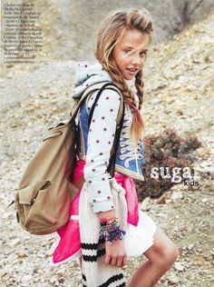 Laura de Sugar Kids para Vogue Niños