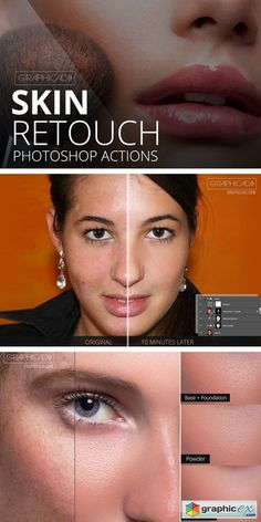 Skin Retouch Photoshop Actions 895881 Professional action set that has bunch of different actions to retouch skin. Works with Photoshop CC and and up. Basic knowledge on Photoshop is pre Photoshop Course, Effects Photoshop, Funny Photoshop, Photoshop Tutorial, Photoshop Actions, Photoshop Keyboard, Photoshop Ideas, Photoshop For Photographers, Photoshop Photography