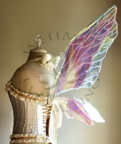 Natural Fairy Wings Wedding Halloween Costume by WhimsyEverlasting, $145.00