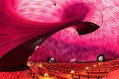 blow up concert hall