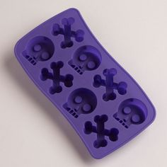 Skull Ice Cube Trays eclectic kitchen tools