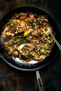 A Festival of Fungi: Mixed Mushroom Ragù Easy Dinner Recipes, Soup Recipes, Breakfast Recipes, Cooking Recipes, Mushroom Dish, Mushroom Recipes, Healthy Foods, Healthy Eating, Healthy Recipes