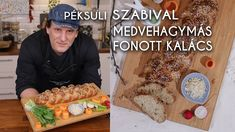 Péksuli Szabival: Medvehagymás fonott kalács | Mindmegette.hu Make It Yourself, Ethnic Recipes, Youtube, Food, Meal, Eten, Meals, Youtubers