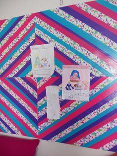 DUCK TAPE Wall Art...Great Idea!