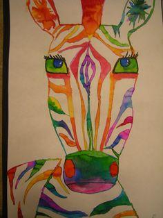 a twist on the color wheel.  Artolazzi: 5th grade