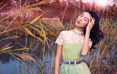 Tian Yi in Vogue China January 2013
