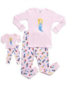 c96d0698d 14 Best Doll Long Sleeve Pajamas images