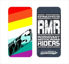 MOBILE STICKERS | MSDESIGN | RMR CLUB | GRAPHICS