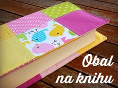 How to make patchwork book cover // Jak si ušít patchworkový obal na knihu #bookcover