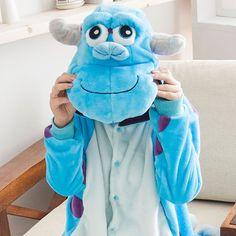 Shineye Lovers Unicorn Unisex Flannel Hooded Pajamas Adults Cosplay Cartoon Cute Animal Onesies Sleepwear Hoodies For Women Men