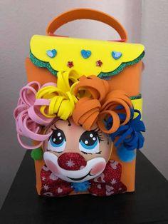 Happy Birthday Name, Circus Birthday, Birthday Party Favors, Baby Birthday, Foam Crafts, Paper Crafts, Diy Crafts, Toddler Crafts, Crafts For Kids