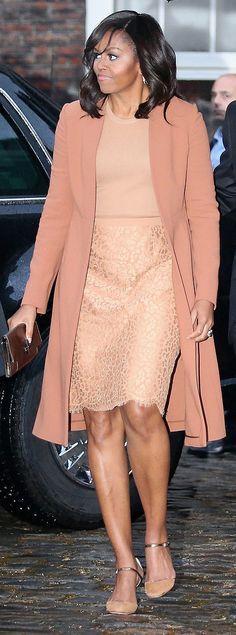 Michelle Obama, April, 2016, London, England