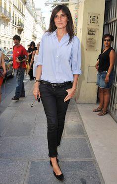 At the Christian Dior Haute Couture fall 2012 show, during Paris Fashion Week.