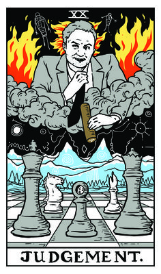 Judgment - Twin Peaks Tarot  WINDOM EARLE by Benjamin Mackey