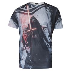 Star Wars Men's Darth Vader T Shirt Grey #StarWars #DarthVader