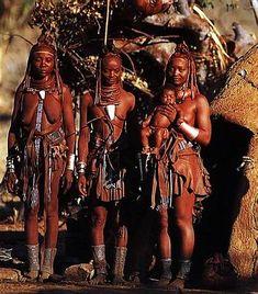 Himbas - Foto de Markus Mauthe - Sud Afrika, 1996