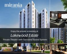 Enjoy the private screening at Lakewood Estate. Private Theatre with Surround Sound System #RealEstate