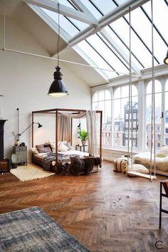 loft - lit baldaquin