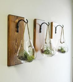 Make a statement with this unique hanging glass container! Use as a terrarium, candle holder or add flowers :) There are endless