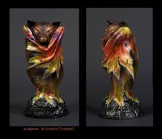 'Autumn Leaf Bat' sculpt by Vincent Chiantelli by Reptangle on deviantART.