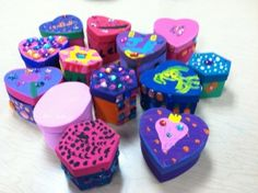 Great friendship activity: making treasure boxes helps kids treasure themselves and others