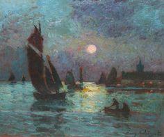 Eugene Chigot  (French, 1860-1927)