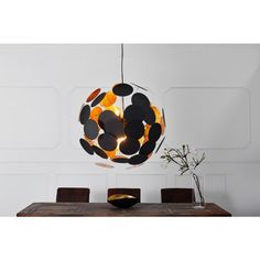 Moderne hanglamp infinity zwart goud - 36226