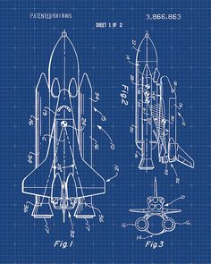 Hey, I found this really awesome Etsy listing at https://www.etsy.com/listing/207729995/space-shuttle-patent-print-patent-art