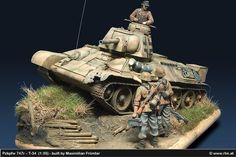 """Pzkpfw 747r / T-34 """"Recycling"""""""